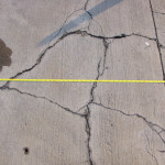 Concrete Distress Investigation cracking