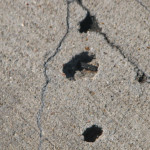 Concrete Distress Investigation pavement
