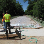 Concrete Strength Analysis Bridge Deck