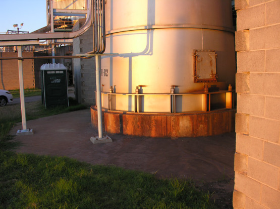 Corrosion of Steel Chimney