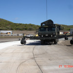Evaluation of an Asphalt USAF Radar Landing Pad