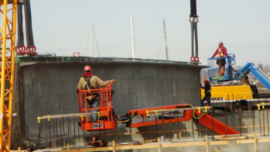High Performance Concrete bridge