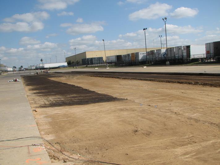 Industrial Parking Lot Concrete Pavement Design