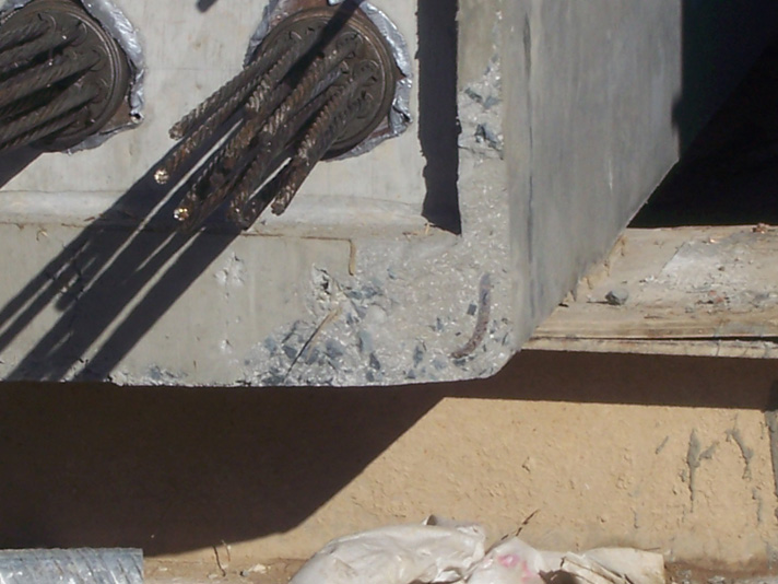 Post Tensioning Beam : Investigation into the cause of cracking in precast post