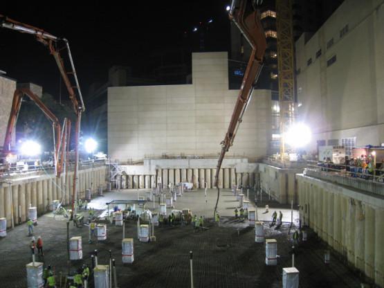 Mass Concrete Mat Foundation