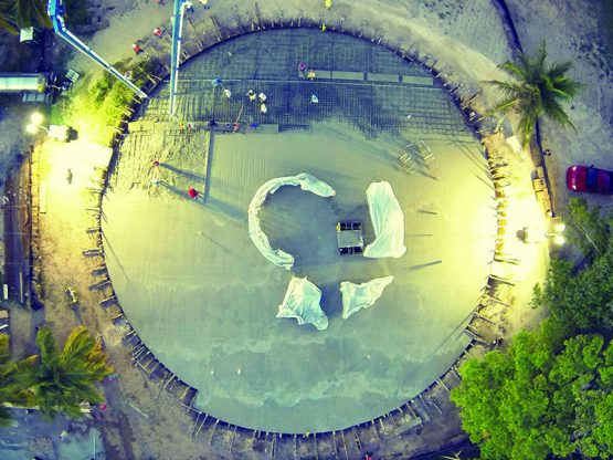 Mass Concrete Materials Consulting Christopher Columbus Statue