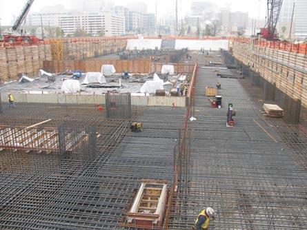 Quality Control Of Mass Concrete Ut Mda Mat Foundation