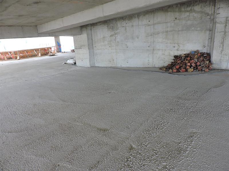 Investigation And Repair Of Rain Damaged Concrete