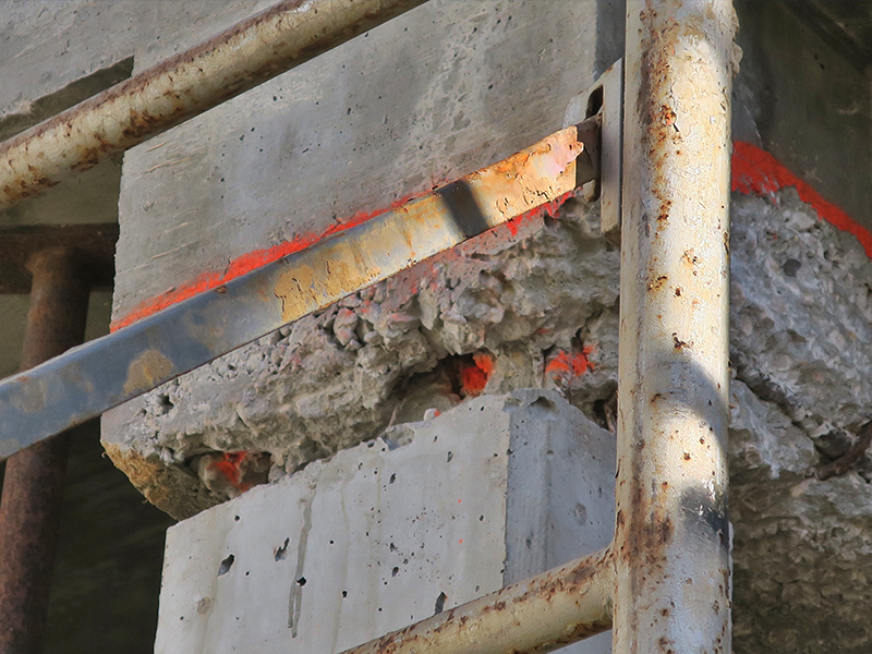 NDT Assessment, and Repair of Cast-in-Place Concrete Framing ...